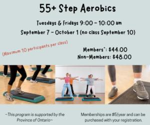 55+ Step Aerobics