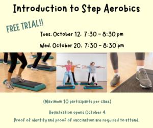 Free Introductory Step Aerobics